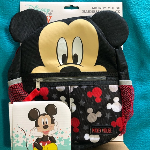 Disney Mickey Mouse backpack harness NWT